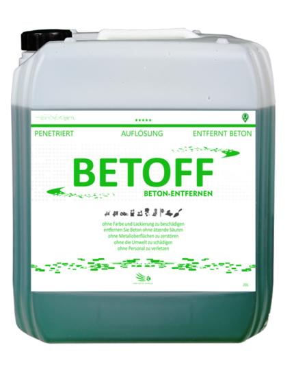 Betoff oplosmiddel voor beton